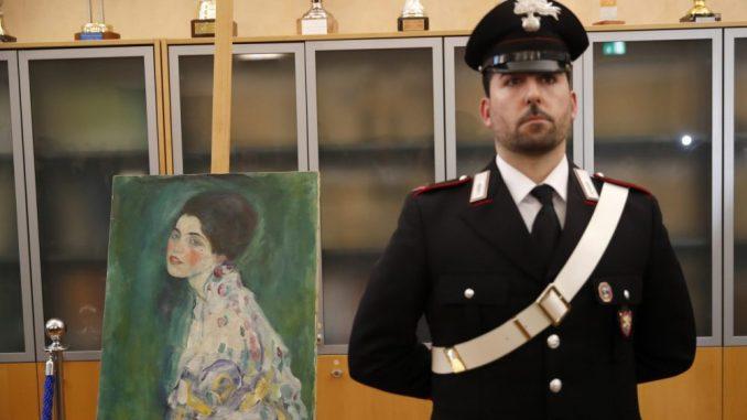 Slika slučajno pronađena u Italiji jeste original Gustava Klimta 1
