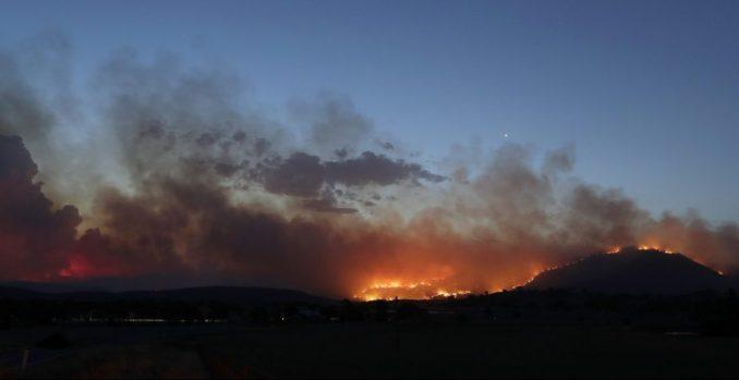 U Kanberi proglašeno vanredno stanje zbog požara 1