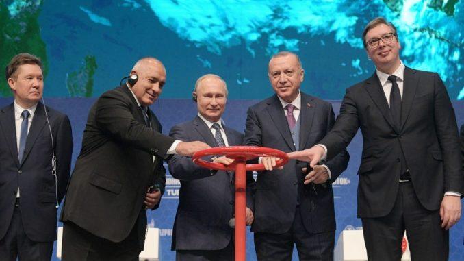 Turski tok i pruga digli srpsku građevinu 56,3 odsto 2