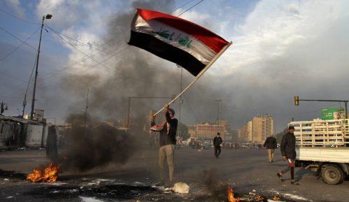 Irački antivladini demonstranti protestovali zbog napada Irana 5