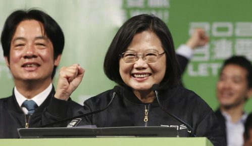 Tajvanska predsednica osvojila drugi četvorogodišnji mandat 1