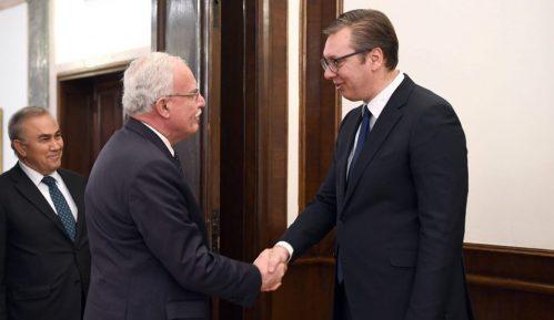 Vučić sa palestinskim ministrom inostranih poslova Rijadom Al-Malkijem o odnosima dve zemlje 14