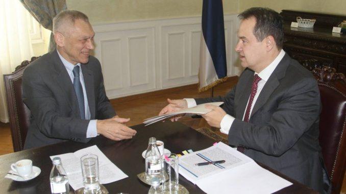 Dačić razgovarao s ruskim ambasadorom o daljoj saradnji i poslao čestitku Lavrovu 1