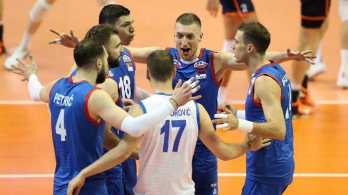 Odbojkaši Srbije bolji od Holandije sa 3:0 2