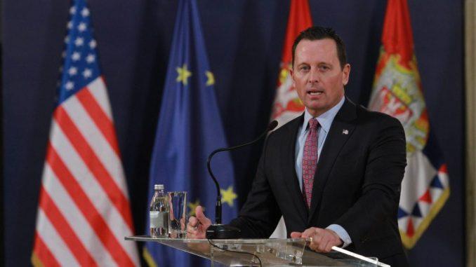 VOA: Ričard Grenel ostaje specijalni izaslanik za Srbiju i Kosovo 2