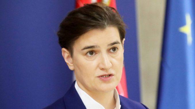 Brnabić o taksi Kosova na robu iz Srbije i odlasku građana iz zemlje 1