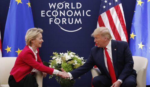 Tramp i fon der Lajen ocenili razgovor u Davosu kao dobar 9