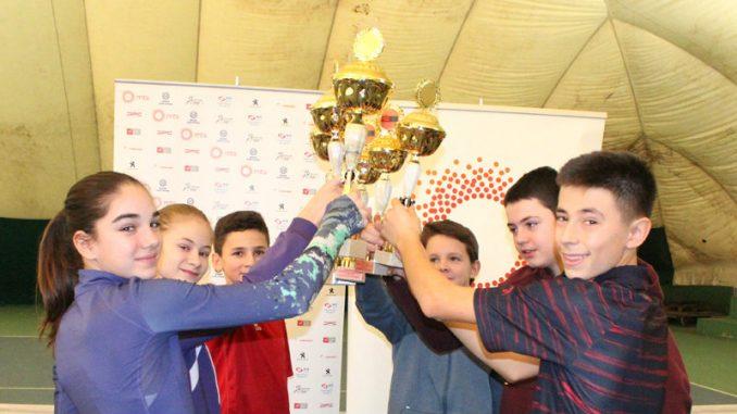 Tara i Danijel Dvoranski šampioni u konkurenciji do 14. godina 2