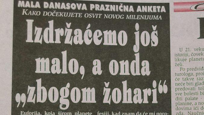 Kakva su bila novogodišnja očekivanja Beograđana pre dve decenije? 5