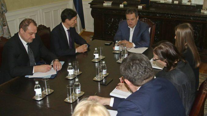 Dačić sa ukrajinskim ambasadorom o intenziviranju saradnje 1