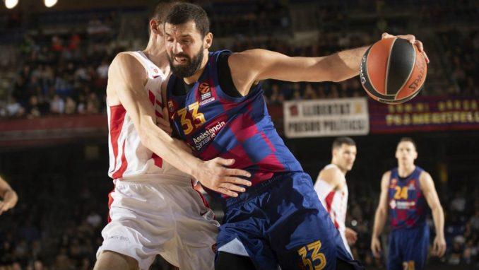 Barselona nadigrala Crvenu zvezdu u 21. kolu Evrolige 2