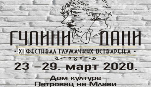 """Pozorišna smotra """"Gulini dani"""" krajem marta 15"""