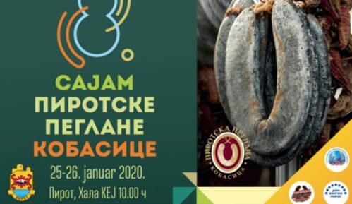 Pirotsku peglanu kobasicu će na sajmu predstaviti 40 proizvođača 12