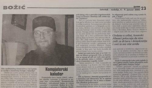 Sava Janjić pre 20 godina o nepostojanju rešenja za Kosovo 6