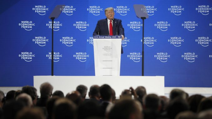 Tramp u Davosu: Amerika cveta 1