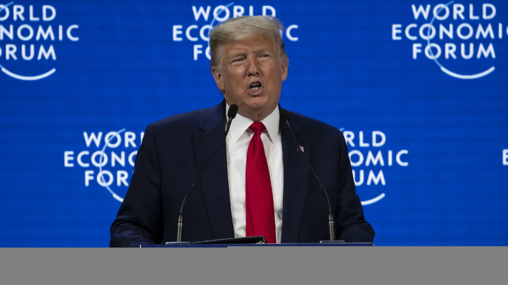 Tramp u Davosu: Amerika cveta 2
