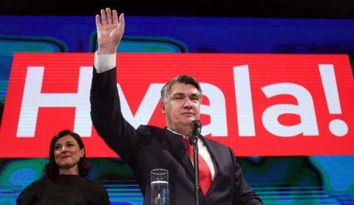 Zoran Milanović novi predsednik Hrvatske 1