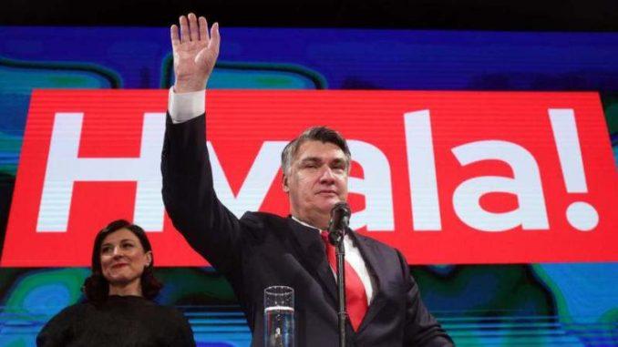 Zoran Milanović novi predsednik Hrvatske 4