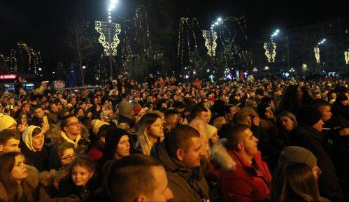 Građani Srbije Novu godinu dočekali na trgovima 6