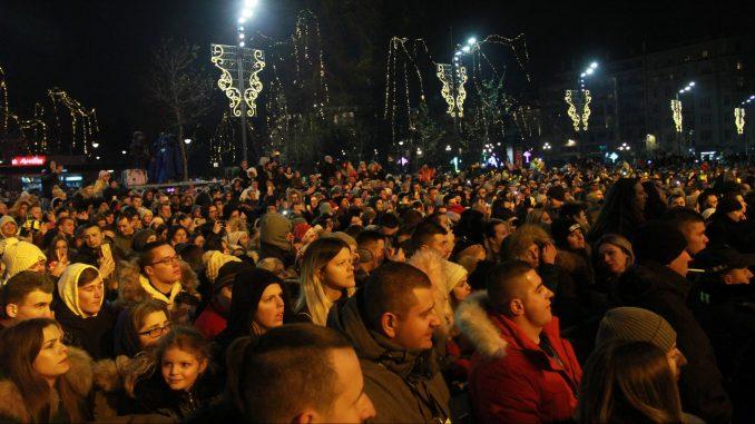Građani Srbije Novu godinu dočekali na trgovima 4