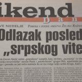 Svetski mediji se pre 20 godina pitali da li je beogradska vlast ubila Arkana 11