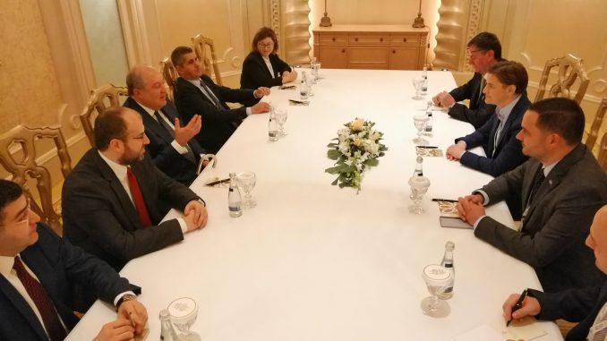Brnabić s predsednikom Jermenije o saradnji u ekonomiji i obrazovanju 3