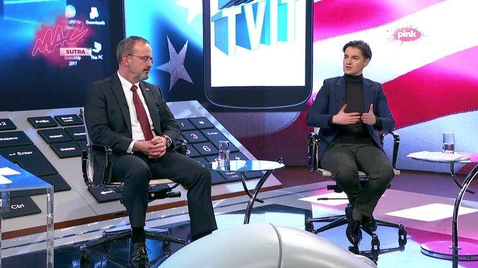 Brnabić:  Televizija N1 se pretvorila u političku stranku 2