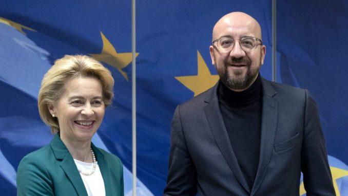 Fon der Lajen i Šarl Mišel potpisali sporazum o Bregzitu, sad ide u EP 1