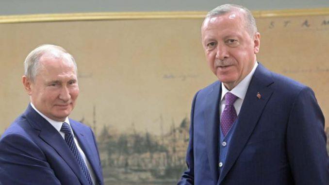 Erdogan i Putin pozivaju na deeskalaciju na Bliskom istoku i na primirje u Libiji 1