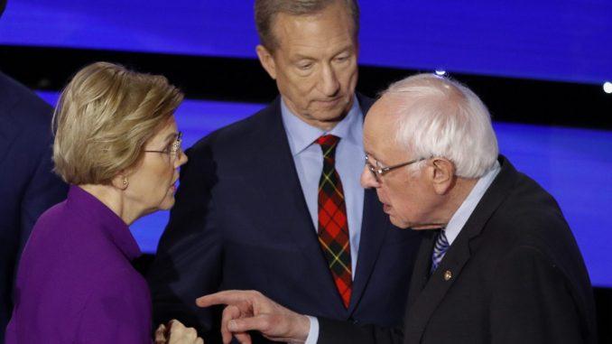 Strahovi američke levice posle spora Sandersa i Voren 1