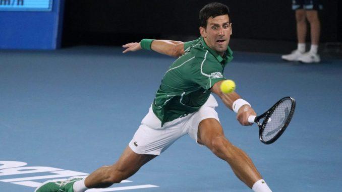 Novak Đoković u rekordnom osmom finalu Australije 1