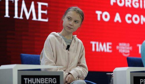 Greta Tunberg u Davosu: U praksi ništa nije urađeno za klimu 13
