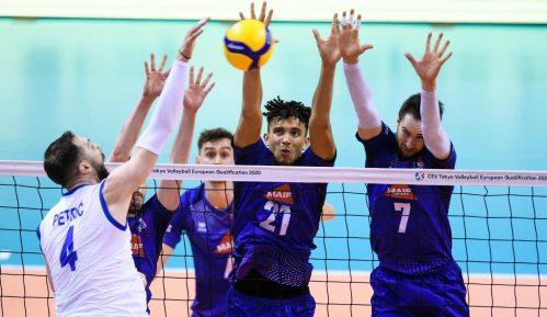 Srpski odbojkaši porazom od Francuske počeli kvalifikacije za OI 5