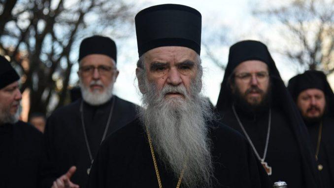 Amfilohije: Vlast u Crnoj Gori da završi kao Porošenko 1