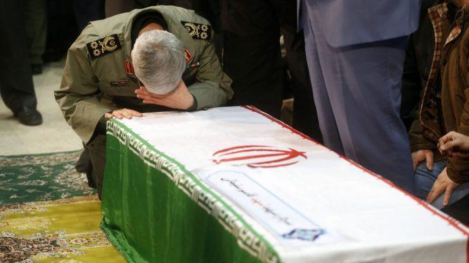Ukopani posmrtni ostaci iranskog generala Sulejmanija 1