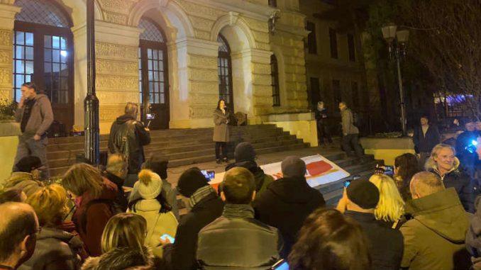 Protest u Kragujevcu i Batočini: Nema izbora u zemlji u kojoj se gazi Ustav (VIDEO) 1