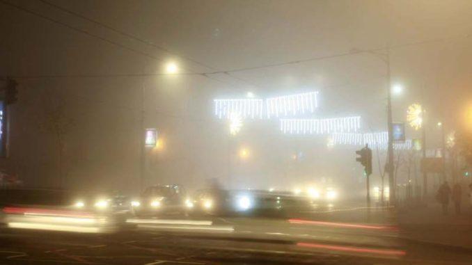 AMSS pozvao vozače na oprez zbog magle i poledice 4