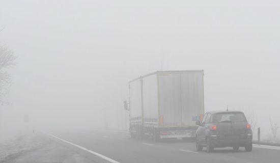 AMSS: Vidljivost smanjena zbog jutarnje magle 13