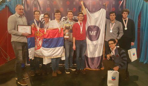 Učenici Matematičke gimnazije apsolutni pobednici na olimpijadi u Kazahstanu 13