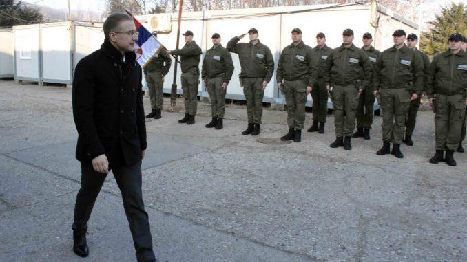 Stefanović obišao pripadnike MUP-a koji tragaju za Ninoslavom Jovanovićem 2