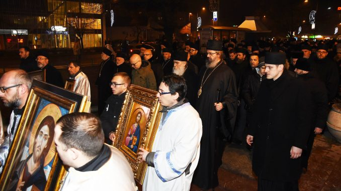 U Novom Sadu održan protestni verski skup zbog crnogorskog Zakona o veroispovesti 2