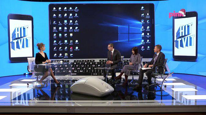 Vučić na Pinku: Smanjenjem cenzusa vratićemo život u parlament 1