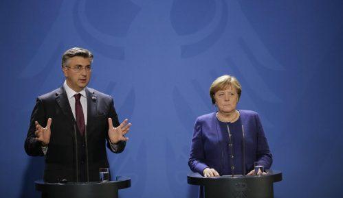 Plenković i Merkel optimisti po pitanju pregovora Albanije i Severne Makedonije sa EU 1