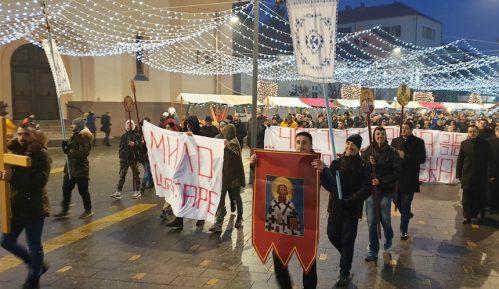 Skup podrške u Zrenjaninu crkvi i Srbima u Crnoj Gori 12