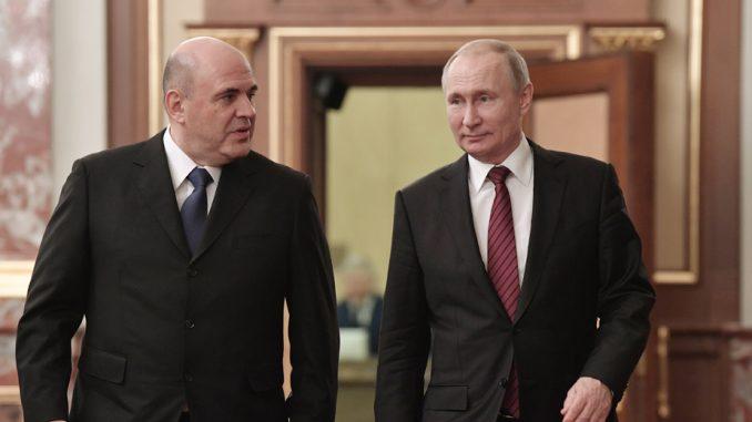 Putin imenovao novu vladu, Lavrov i Šojgu zadržali mesta 2