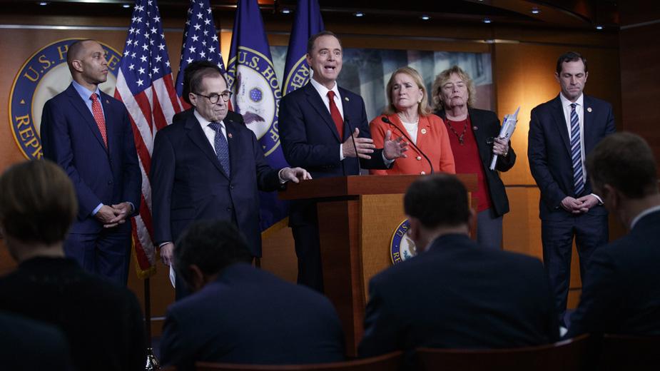 Trampovi advokati traže od Senata da ga oslobodi optužbi 1