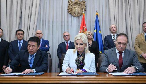 Potpisani sporazumi sa kineskom kompanijom za projekat prečišćavanja otpadnih voda u Beogradu 5