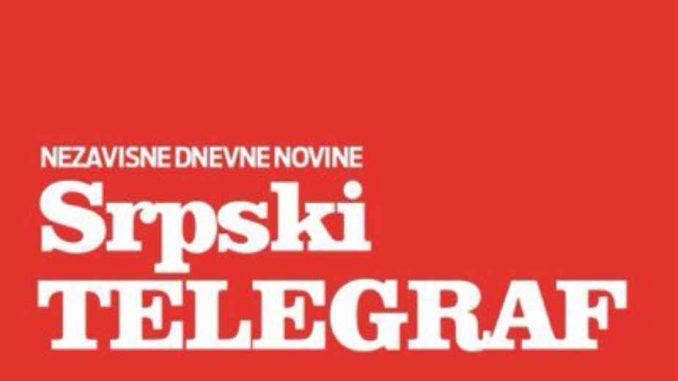 Izvinjenje Srpskog telegrafa Moniki, njenoj porodici i javnosti 1
