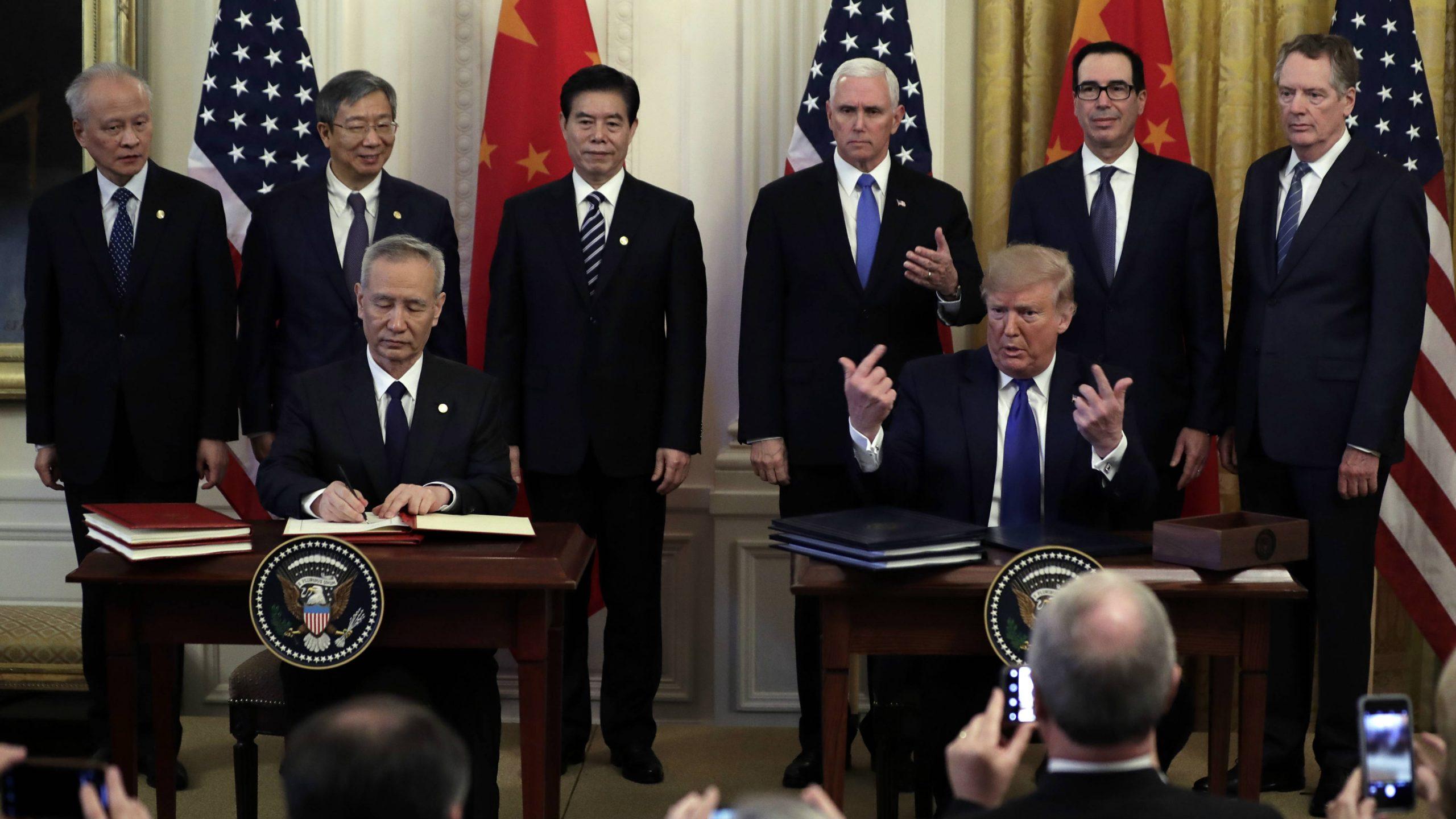 SAD i Kina potpisali trgovinski sporazum 1
