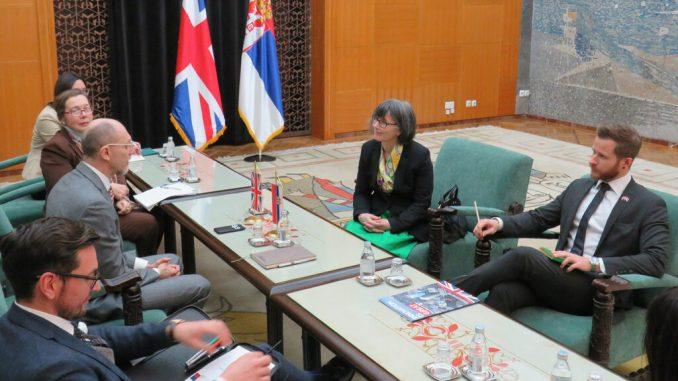 Ministar Trivan sa ambasadorkom Velike Britanije o zagađenju 4
